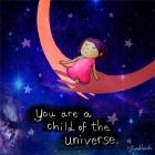 你是宇宙之子,当你信任高层面的力量