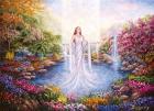 你是展现一切的神圣空间:行为愛,行为照耀,行为光